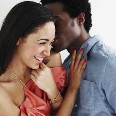 Touching a guy you're into is a major pro-flirt move—it subtly makes him think about where your hands could go later. The right move: casually touching his shoulder, arm, or knee when you're talking.