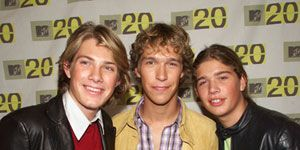 """Long before the Jo Bros, Hanson had the 'brother boy band' act down pat. Their biggest hit, """"MMMBop,"""" was No. 1 on the Billboard charts for three weeks straight in 1997."""