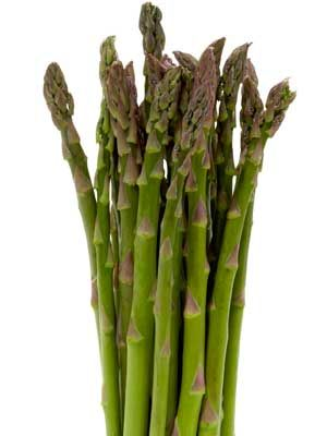 You probably already know that water retention is one of the reasons you puff out, but asparagus can help reduce it, says nutritionist Stephanie Middleberg, RD. Add a few stalks to your meal the night before you hit the beach to make sure you're looking flat the next day.