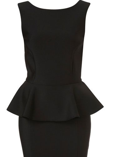 White, Standing, Pattern, Style, Dress, Neck, Black, One-piece garment, Grey, Day dress,