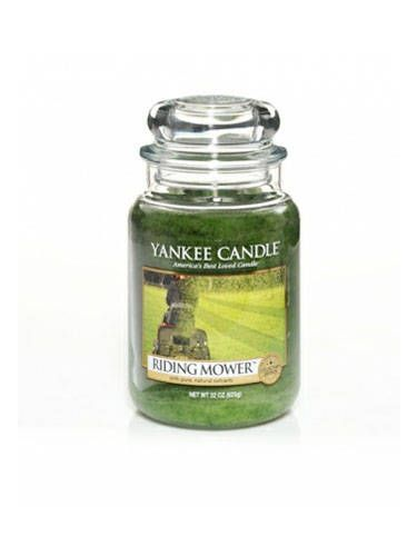 "Yankee Candle's Man Candles feature scents like Riding Mower, First Down, and Man Town. What, no Beer?<br /><br />  $27.99, <a href=""http://www.yankeecandle.com/detail/riding-mower/1239215"" target=""_blank"">Yankee Candle</a>"