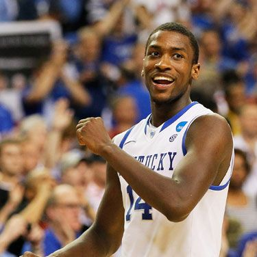 """Michael made the cut for our roundup of the hottest guys of the Final Four. We're glad to see the Charlotte Bobcats recognize <a href=""""http://www.cosmopolitan.com/sex-love/hot-guys/hottest-basketball-players-michael-kidd-gilchrist#slide-5"""" target=""""_blank"""">his talent</a>."""