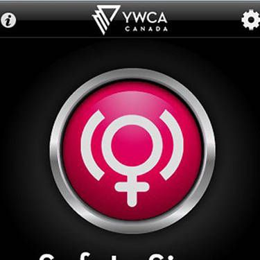 """This free app is a rape whistle for the ipad era. Just a quick tap or shake sets off a blaring alarm, and the app sends your preset emergency contacts an email with a google map of your exact location. <br /><br /><a href=""""http://itunes.apple.com/ca/app/ywca-safety-siren/id372269044?mt=8"""" target=""""_blank"""">iTunes</a>, Free"""