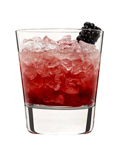 <i>2 oz. Cointreau<br /> 1 oz. Lemon juice<br /> ½ oz. Crème de Mure<br /> Garnish: blackberry</i><br /><br />  Combine triple sec and lemon juice in a cocktail shaker filled with ice. Shake and strain into a rocks glass filled with crushed ice. Top with Crème de Mure. Garnish with a blackberry.