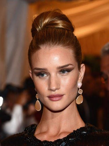 Admirable How To Do A High Bun Celebrity Tops Knots And High Buns Hairstyle Inspiration Daily Dogsangcom