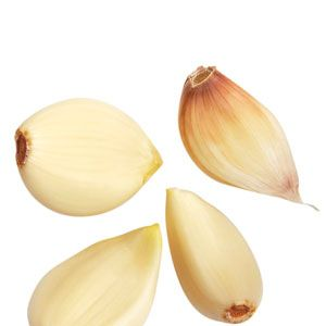 "According to beauty expert Shalini Vadhera  (author of ""Passport to Beauty""), Dominican women use garlic to keep nails strong. Chopping up fresh garlic, adding it to a bottle of clear polish and applying it to the nails (after letting it sit for about a week) it said to have amazing strengthening properties for nails."