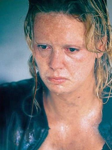 Fans were blown away by Charlize's nearly unrecognizable transformation for her turn as serial killer Aileen Wuornos. She later won an Oscar for her role.