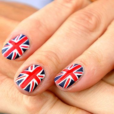 Flag nails are the biggest trend of the 2012 games. A Union Jack (seen here on British archer Alison Williamson) is freaking awesome no matter where you're from.