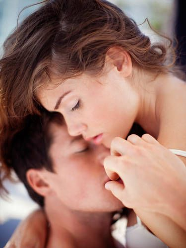 """Explore each other's body to uncover new hot spots. Lay there and have him use different types of pressures and touches. Then switch and do the same to him. Not sure where to start? <a href=""""http://www.cosmopolitan.com/sex-love/relationship-advice/how-to-give-sensual-massage#slide-1"""" target=""""_blank"""">These sexy moves</a> should help."""