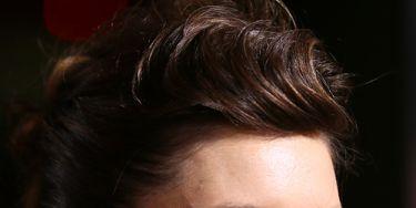 Hair, Nose, Ear, Mouth, Lip, Cheek, Hairstyle, Chin, Forehead, Earrings,