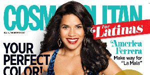 <p>Read our interview with America — and why you should vote! — in the October issue of Cosmopolitan for Latinas!<br /> <br /><strong>Newsstand CoverCredits:</strong><br /> <br /><strong>Photographer: </strong> Yu Tsai<br /> <br /><strong>Fashion Editor:</strong> Caitlin Burke<br /> <br /><strong>Stylist:</strong> Annie Ladino at The Wall Group<br /> <br /><strong>Hair:</strong> Miok for WELLA Judy Casey Inc.<br /> <br /><strong>Makeup:</strong> Linda Hay at The Wall Group<br /> <br /><strong>Manicure:</strong> Elle for ESSIE at The Wall Group<br /> <br /><strong>Clothing:</strong> Dress, Dolce & Gabbana, $2,375; earrings, INC, $22.50; bangles, R.J. Graziano,$25-30; ring, Joseph Mimi, $399.</p>