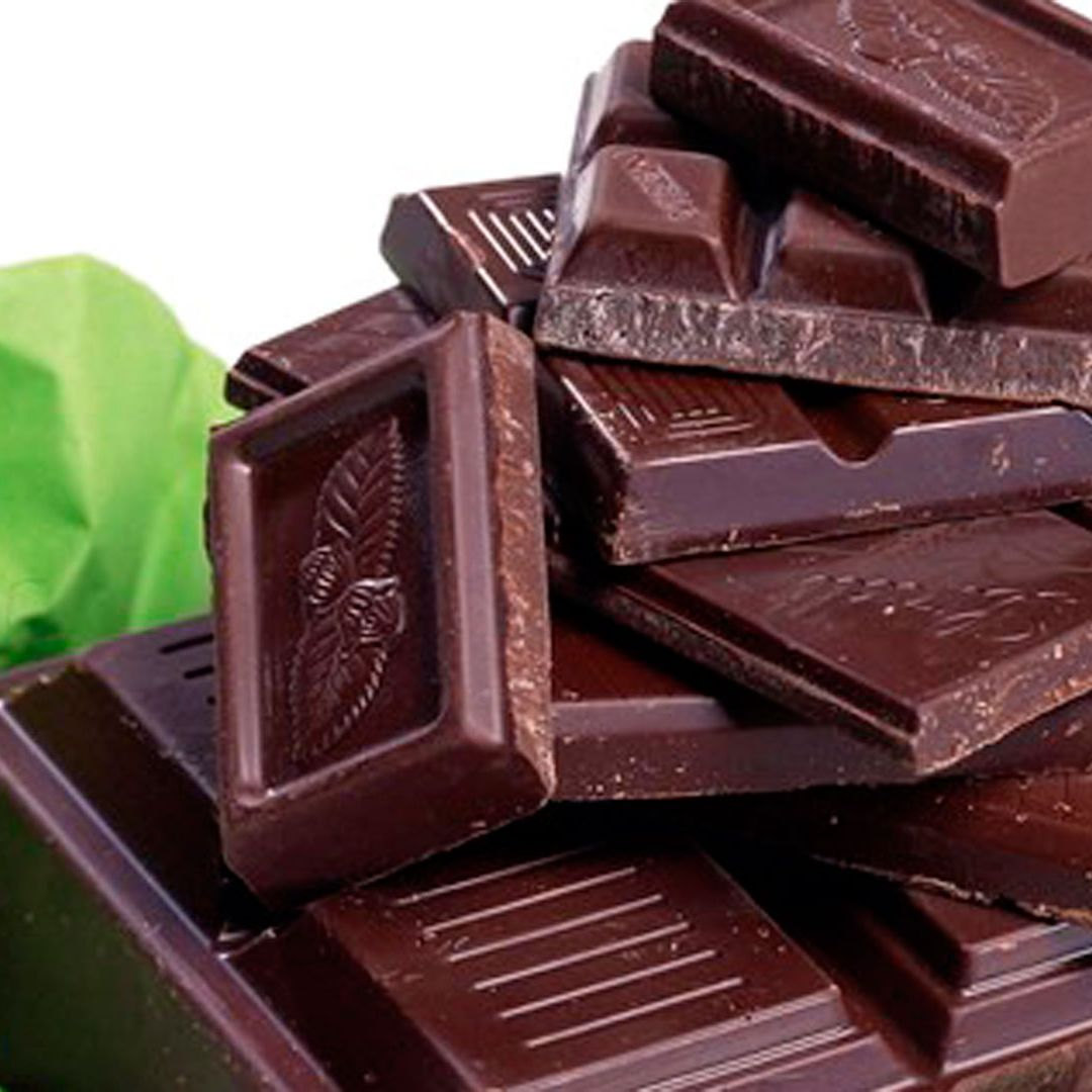 Not only is it delish, dark chocolate is high in magnesium, a mineral that calms your muscles and reduces anxiety. It also contains tryptophan, which helps reduce symptoms of depression.