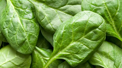This leafy green is stocked with folic acid, a B vitamin that has been found to boost your mood. It's also an antioxidant that works to protect your brain cells from free radicals, which can lead to low energy and mood swings.