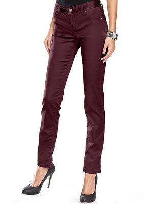 """<p>Colored denim is a tend everyone needs to rock right now! They're so versatile and can complement any look.</p> <p>$69.50, <a href=""""http://www1.macys.com/shop/product/inc-international-concepts-jeans-skinny-leg-colored-denim?ID=738142&CategoryID=3111&LinkType=#fn=BRAND%3DINC%20International%20Concepts%26sp%3D1%26spc%3D27%26ruleId%3D60%26slotId%3D22"""" target=""""_blank"""">Macys.com </a></p>"""