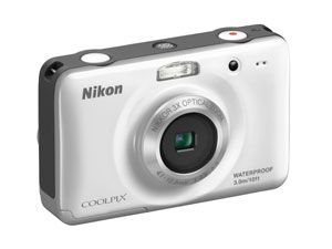 Nikon CookPix10.1MP Digital Waterproof Camera, $96, walmart.com