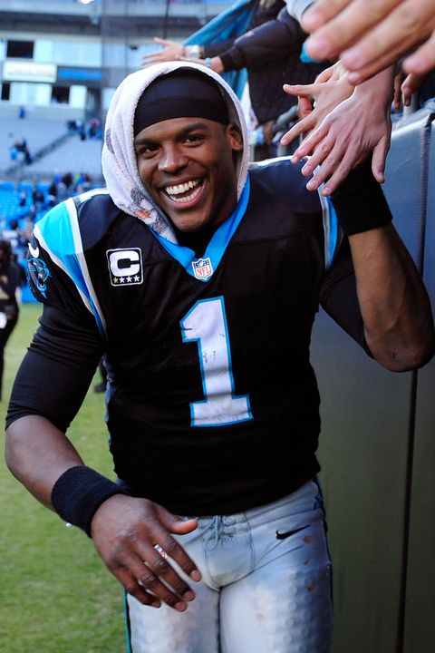 We're just going to say it: Cam is one of the most underrated hotties in the NFL.