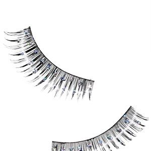 <p>Basic falsies are so last year. Try a bejeweled pair for fun, notice-me eyes.</p>