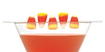 "<i>1 oz. SVEDKA Clementine Vodka<br /> ½ oz. sour cherry schnapps<br /> 1 oz. mango juice<br /> ½ oz. orange juice<br /> Splash of lime juice<br /> Garnish: candy corn<br /><br /></i>  Combine all ingredients into a cocktail shaker filled with ice. Shake gently and strain into a glass. Garnish with candy corn.<br /><br />  <i>Source: <a href=""http://www.svedka.com/"" target=""_blank"">SVEDKA</a></i>"