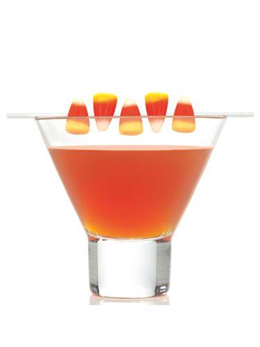 How do you make a candy corn martini