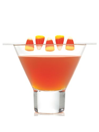 "<i>1 oz. SVEDKA Clementine Vodka<br /> ½ oz. sour cherry schnapps<br /> 1 oz. mango juice<br /> ½ oz. orange juice<br /> Splash of lime juice<br /> Garnish: candy corn<br /><br /></i> Combine all ingredients into a cocktail shaker filled with ice. Shake gently and strain into a glass. Garnish with candy corn.<br /><br /> <i>Source: <a href=""http://www.svedka.com/"" target=""_blank"">SVEDKA</a></i>"