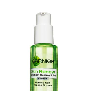 Garnier Skin Renew Clinical Dark Spot Overnight Peel, $17<br /><br />