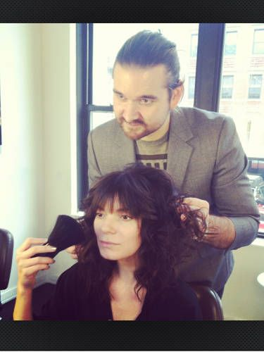 how to cut your own side bangs at home