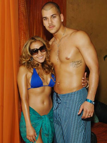 Rob Kardashian had then-girlfriend Adrienne Bailon's name tattooed onto his rib cage&#x3B; she got his name tatted onto her butt. After they split, she had hers removed. No word on Rob's plans.