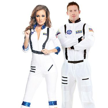 Felix Baumgartner's stratosphere jump got people all excited about space again. Your guy will feel like a stud in this astronaut's uniform&#151&#x3B;and you'll look crazy-hot.<br /><br />