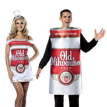 This combines two of his favorite things: You in a short dress and brewski. <i>Niiice</i>.