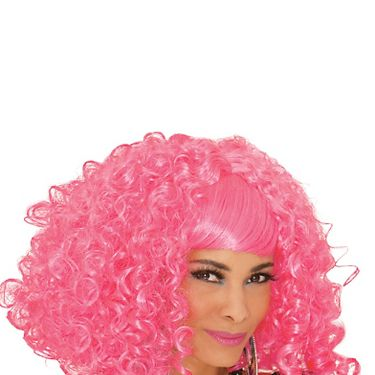 """Be the sweetest thing anyone has ever seen.<br /><br /><b>From Your Closet:</b> A sexy white dress.<b>What to Buy:</b> Pink curly wig, $24.99, <a href=""""http://www.partycity.com/product/pink-a-licious+curly+wig.do"""" target=""""_blank"""">PartyCity.com</a>"""