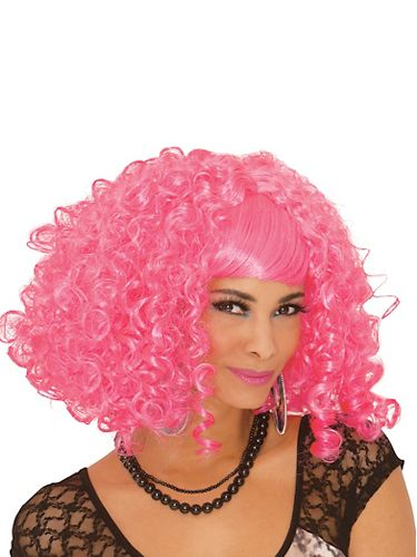 "Be the sweetest thing anyone has ever seen.<br /><br />  <b>From Your Closet:</b> A sexy white dress. <b>What to Buy:</b> Pink curly wig, $24.99, <a href=""http://www.partycity.com/product/pink-a-licious+curly+wig.do"" target=""_blank"">PartyCity.com</a>"