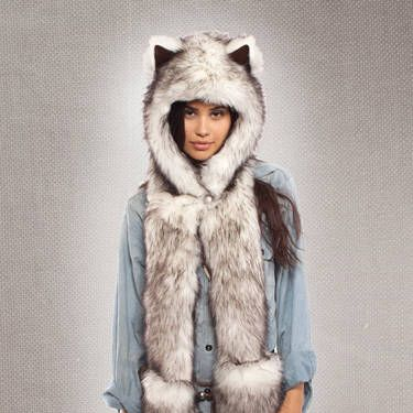 """Let your hat make the statement as to which furry friend you are. <br /><br /><b>From Your Closet:</b> Black leggings and a black tank top.<br /><b>What to Buy:</b> Animal hat, $49, <a href=""""http://www.urbanoutfitters.com/urban/catalog/productdetail.jsp?id=25971680&CAWELAID=1534446630"""" target=""""_blank"""">UrbanOutfitters.com</a>&#x3B; More hats available on <a href=""""https://spirithoods.com/Adults/Womens/ALL%20HOODS/"""" target=""""_blank"""">SpiritHoods.com</a>"""