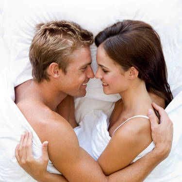 When you're spooning in bed, wait until he's almost asleep, then turn back and whisper softly that you love him. It'll feel natural as you catch him in one of the most relaxed, intimate, cozy moments possible.