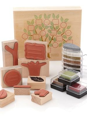 <p>A fun arts and crafts project grandma can spearhead and share with the family.</p> <p>Martha Stewart Crafts Family Tree Stamp and Ink Kit, $22.95, hsn.com</p>
