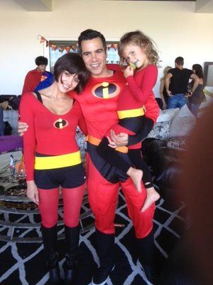 <p>Jess and her family looked super cute in their Incredibles costumes.</p>