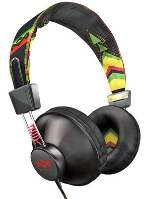 <p>An affordable, killer sound system meets old-school street cred style.</p> <p>Jammin' Positive Vibration Headphones by House of Marley, $59.96, qvc.com</p>