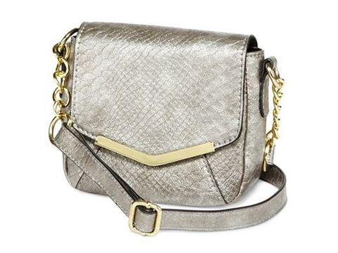 If You Want To Add A Little More Shine Your Holiday Party Dress Flaunt This Faux Snakeskin Metallic Silver Bag With Getup And Wait For The