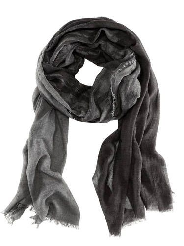 Style, Stole, Black, Scarf, Black-and-white, Monochrome photography, Wrap, Shawl,