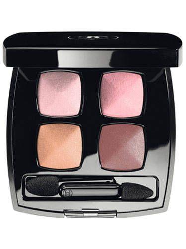 Brown, Peach, Plastic, Square, Cosmetics,