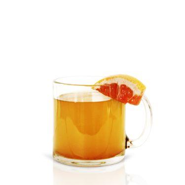 <i>½ oz. Cruzan 9 Spiced Rum<br />½ oz. agave nectar<br />¾ oz. oz. pink grapefruit juice<br />5 oz. hot water<br />Pinch of cinnamon</i><br /><br />Combine all ingredients in a mug and stir.<br /><br /><i>Source: Cruzan Rum</i>