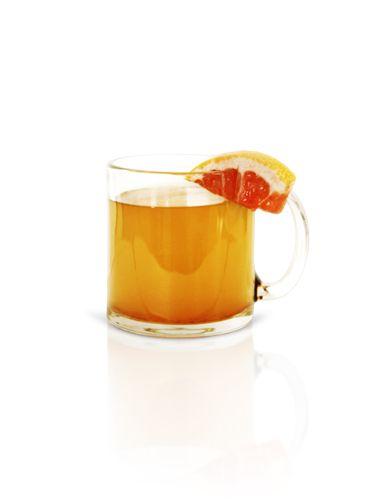 <i>½ oz. Cruzan 9 Spiced Rum<br /> ½ oz. agave nectar<br /> ¾ oz. oz. pink grapefruit juice<br /> 5 oz. hot water<br /> Pinch of cinnamon</i><br /><br />  Combine all ingredients in a mug and stir.<br /><br />  <i>Source: Cruzan Rum</i>