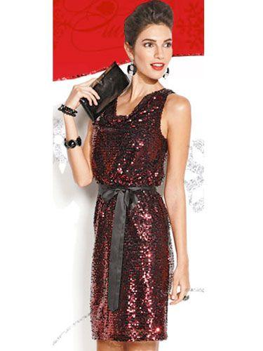 Apt 9 red dress 80s