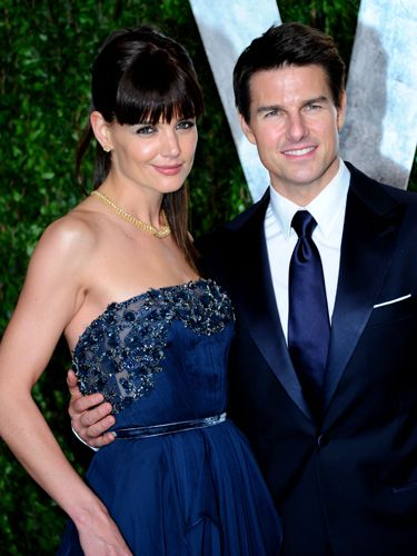 """When TomKat split, <a href=""""http://www.cosmopolitan.com/celebrity/exclusive/tom-cruise-and-katie-holmes-what-went-wrong"""" target=""""_blank"""">we weren't that shocked</a>. And as reports kept coming out—revealing more about their marriage—we're kind of glad Katie got out of Tom's Scientology trenches."""