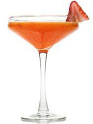 <p>Ingredients:</p> <p>1 part Jim Beam Black<br /> 1/2 Part DeKuyper O3 Premium <br /> Orange Liqueur<br /> 1 part fresh lemon juice <br /> 2 strawberries, sliced<br /> 2 fresh basil leaves, torn<br /> 1/2 part simple syrup</p> <p>Fill shaker with Jim Beam Black with DeKuyper O3, fresh lemon, simple syrup, and ice and shake well. Add in sliced strawberries and torn basil leaves and stir. Strain into a collins glass and add ice. Garnish with basil and a lime slice.</p>