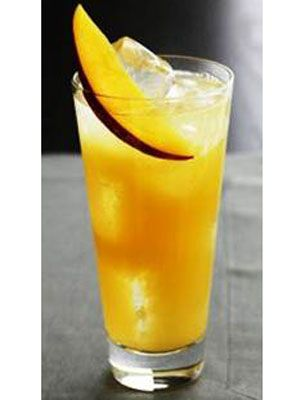 <p>Ingredients: </p> <p>1 part Jim Beam Devil's Cut<br /> 1/2 part DeKuyper O3 Premium<br /> Orange Liqueur <br /> 1 part fresh sour <br /> 1 part mango juice</p> <p>Mix Jim Beam Devil's Cut with fresh sour, mango juice, DeKuyper O3 Premium, and ice in a shaker. Shake well and pour over ice. Garnish with a mango slice.</p>
