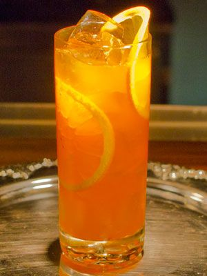 <p>Ingredients:</p><p>1 oz Beluga Vodka<br /> 1 oz Aperol<br /> 1 oz fresh orange juice<br /> 1 dash orange bitters<br /> 1 teaspoon apricot bitters</p><p>Add all ingredients to a mixing tin. Add ice. Shake well. Strain into a collins glass. Garnish with an orange peel.</p><p> </p><p>(Courtesy of mixologist Eric Tecosky.)</p>