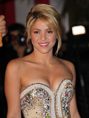 Shakira's hair is always changing, but we loved this updo she rocked on the red carpet last year. Stylist Yohayne Garcia of NuStyle Salon in New Jersey shows you how to get the look.