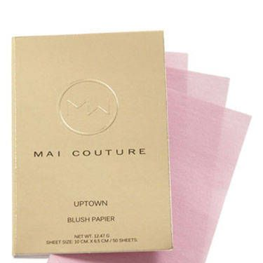 <p>On the go? Skip the brush and swipe one of these shimmer-infused blush papers over your cheekbones for a fresh hint of a tint.</p>