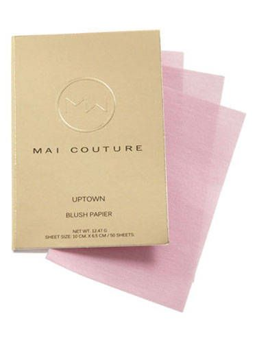 "<p>On the go? Skip the brush and swipe one of these shimmer-infused blush papers over your cheekbones for a fresh hint of a tint.</p>  <p>Mai Couture Blush Papier in Prettyful, $18, <a href=""http://shop.nordstrom.com/s/mai-couture-blush-papier/3365248"">nordstrom.com</a></p>"