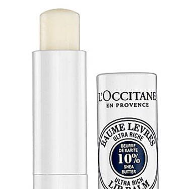 "<p>Even the sexiest lipstick loses its lusciousness when it's swiped over dry, <a href=""http://www.cosmopolitan.com/hairstyles-beauty/skin-care-makeup/chapped-lips-remedy"">chapped lips</a>. Score a smooth, supple pucker with this 10% shea butter-infused balm.</p>